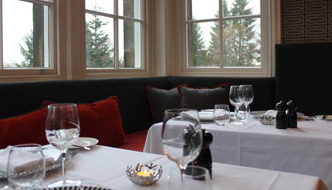 Fine Dining at Spe restaurant, Dowans Hotel Aberlour